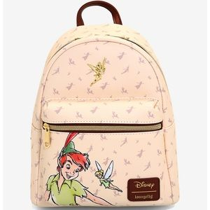 LOUNGEFLY DISNEY PETER PAN & TINKERBELL BACKPACK
